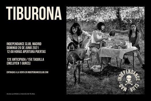 TIBURONA EN INDEPENDANCE CLUB (MADRID)