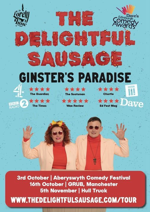 The Delightful Sausage: Ginster's Paradise