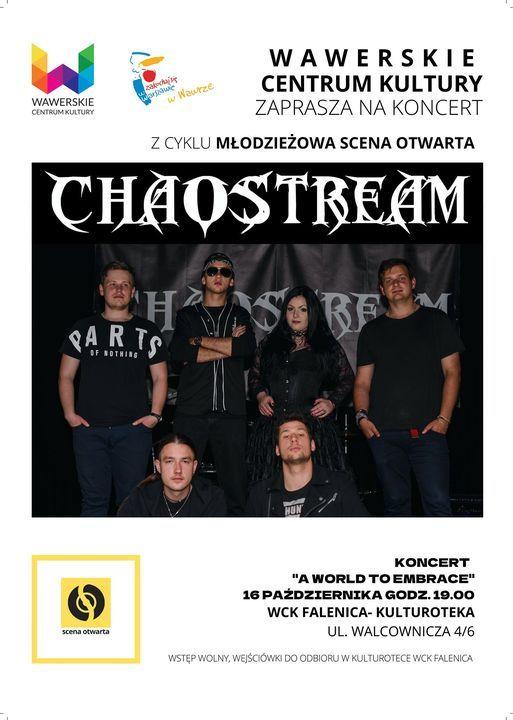 Koncert zespo\u0142u Chaostream w Kulturotece w Falenicy <3