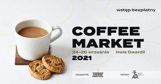 Warsaw Coffee Market \/ 24-26 wrze\u015bnia \/ Hala Gwardii
